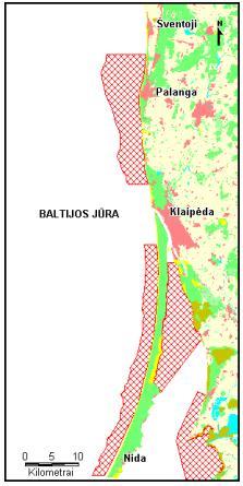 Tarptautinės svarbos vandens paukščių žiemavietės Baltijos jūros Lietuvos priekrantėje ir Kuršių mariose