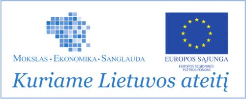 Projekto rėmėjų logotipas